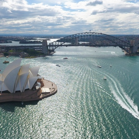 Sydney Harbor by Drone