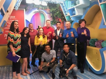 With the Wiggles for Universal Kids