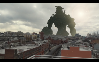 Rotoscoping/Masking a giant into Brooklyn